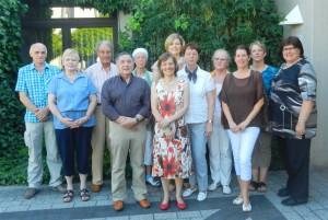 Neuer Vorstand und Teilnehmer der MItgliederverammlung